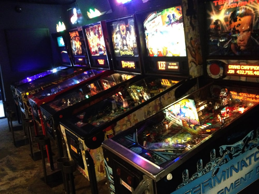 Best ideas about Coin-Op Game Room Sacramento . Save or Pin Some of the pinball machines I played The Simpsons the Now.