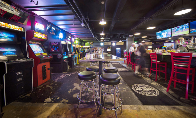 Best ideas about Coin-Op Game Room Sacramento . Save or Pin Arcade games are paired with craft beers and cocktails at Now.