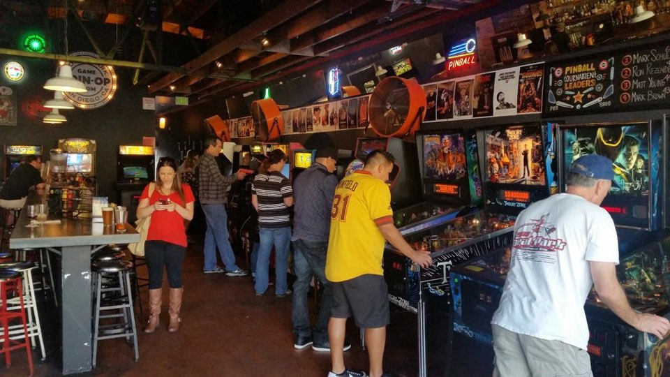 Best ideas about Coin Op Game Room Sf . Save or Pin Coin Op Game Room Plots 4th & Bryant Arcade Bar Now.