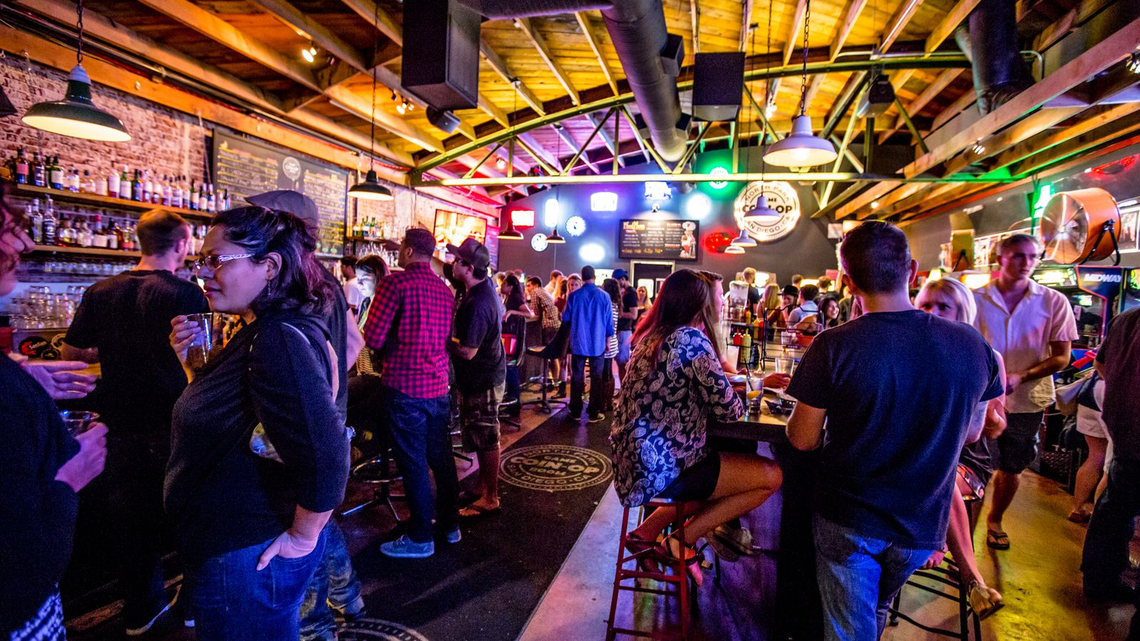 Best ideas about Coin Op Game Room Sf . Save or Pin San Diego Arcade Bar Coin Op Game Room Is ing for All Now.