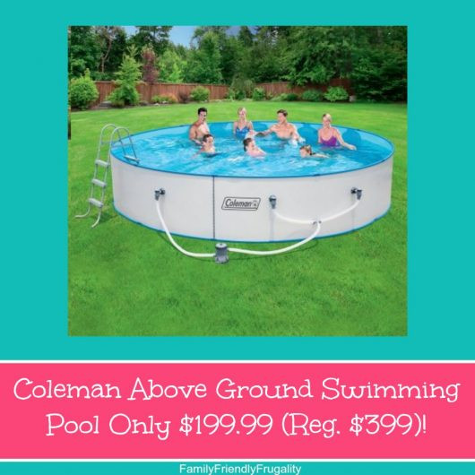Best ideas about Coleman Above Ground Pool . Save or Pin Coleman Ground Swimming Pool ly $199 99 Reg $399 Now.