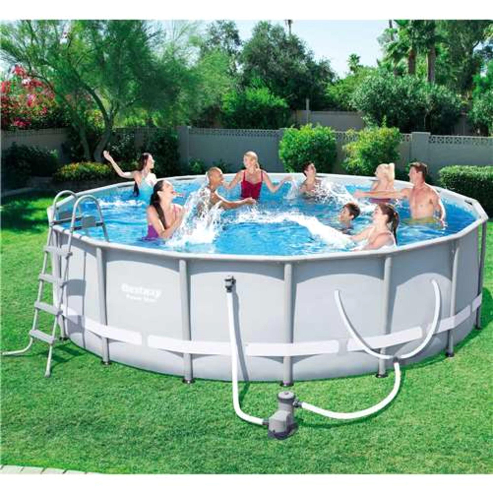 """Best ideas about Coleman Above Ground Pool Parts . Save or Pin Bestway 16 x 48"""" Steel Ground Pool Set Sears Now."""