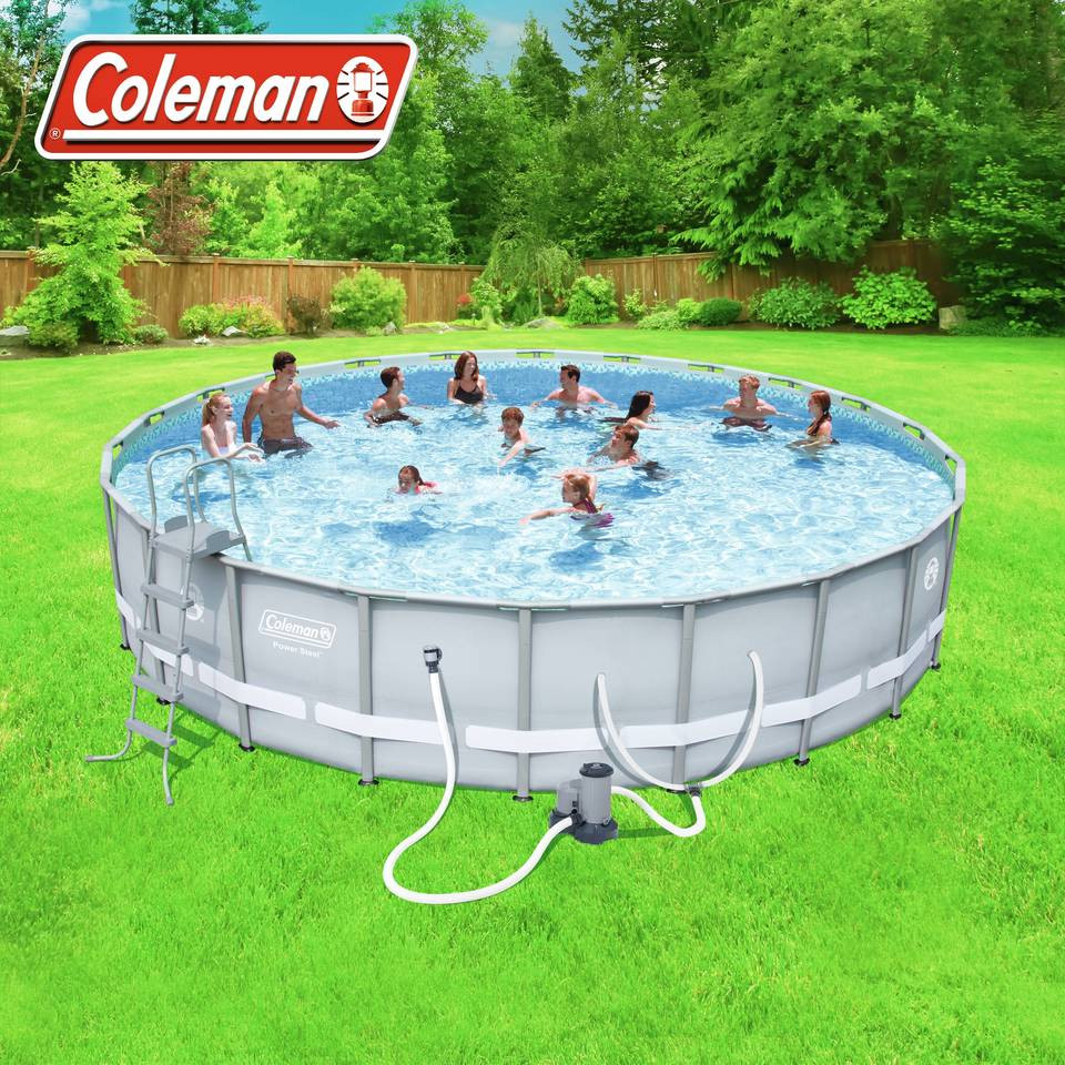 Best ideas about Coleman Above Ground Pool Parts . Save or Pin Bestway Steel Frame Swimming Pool Wallpaperall Now.