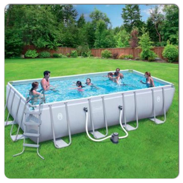 Best ideas about Coleman Above Ground Pool Parts . Save or Pin Coleman 18x9x48 rectangle pool Pool Pinterest Now.