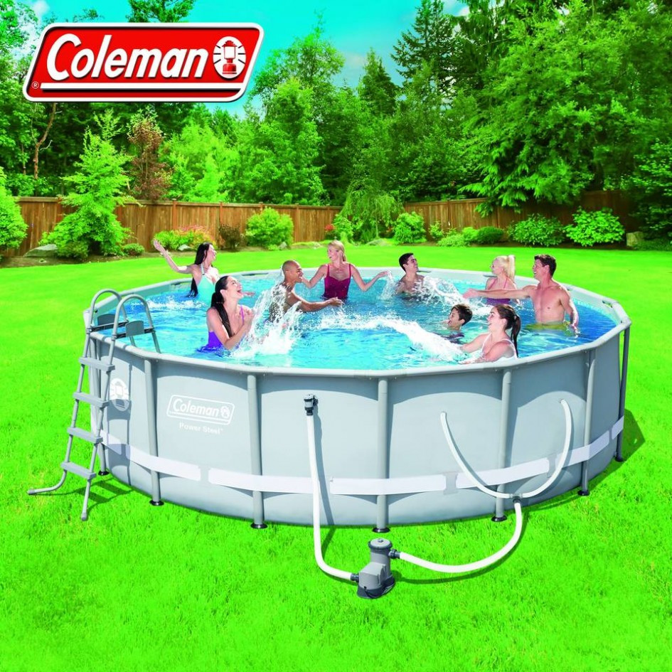 Best ideas about Coleman Above Ground Pool Parts . Save or Pin Pool Walmart Ground Pools For Swimming Pool Now.