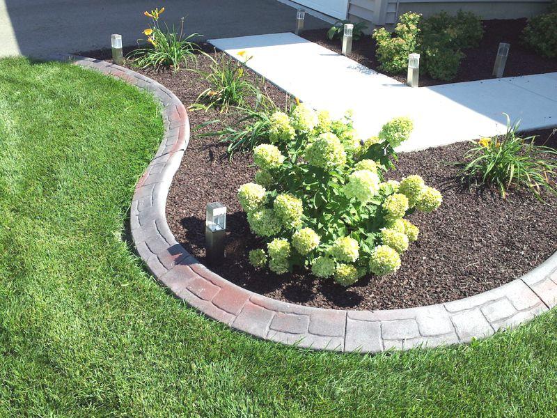 Best ideas about Concrete Landscape Curbing . Save or Pin Landscape Concrete Edging Plan Ideas — Builtwithpolymer Design Now.