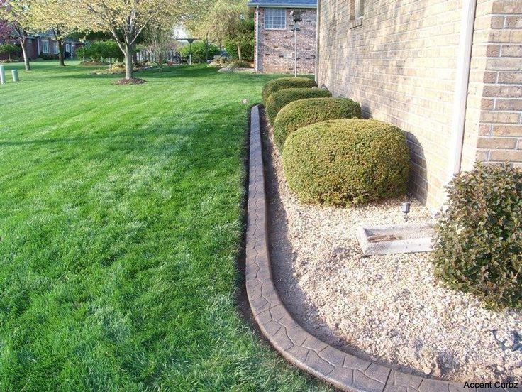 Best ideas about Concrete Landscape Curbing . Save or Pin 17 Best ideas about Concrete Landscape Edging on Pinterest Now.