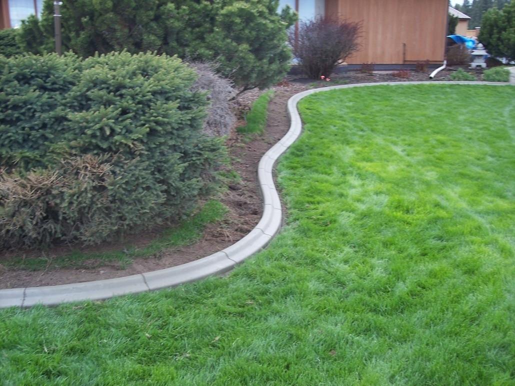 Best ideas about Concrete Landscape Curbing . Save or Pin Landscape Concrete Edging Installation — Bistrodre Porch Now.