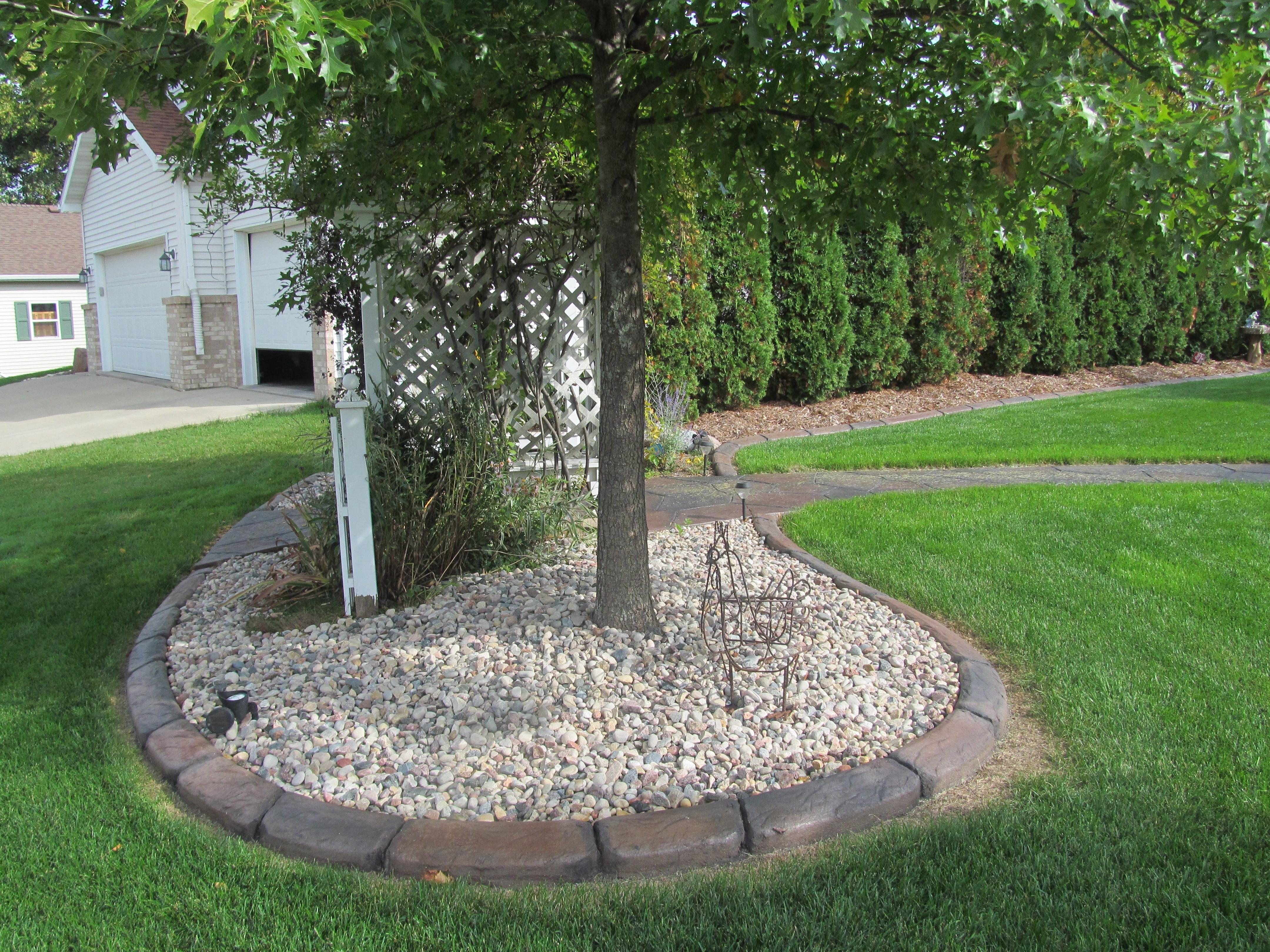 Best ideas about Concrete Landscape Curbing . Save or Pin Decorative Landscape Curbing Ideas — Bistrodre Porch and Now.