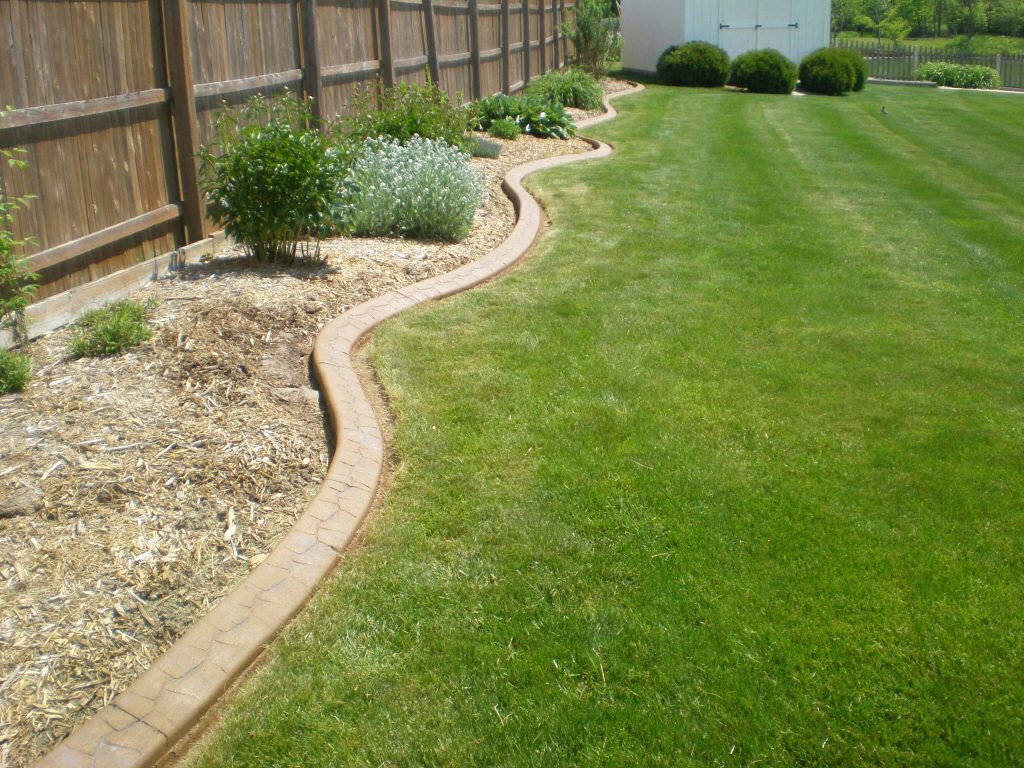 Best ideas about Concrete Landscape Curbing . Save or Pin Custom Lawn Edging 545 Lawn Care Inc Now.