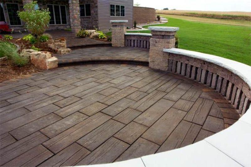 Best ideas about Concrete Patio Ideas . Save or Pin 24 Amazing Stamped Concrete Patio Design Ideas Now.