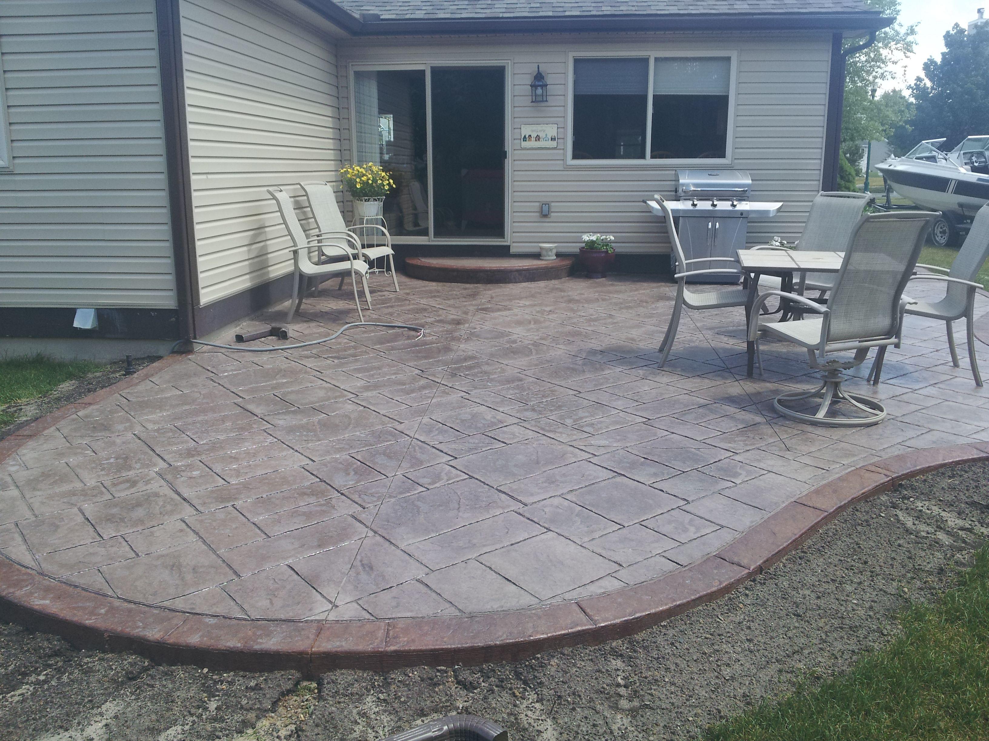 Best ideas about Concrete Patio Ideas . Save or Pin concrete patio design ideas Now.