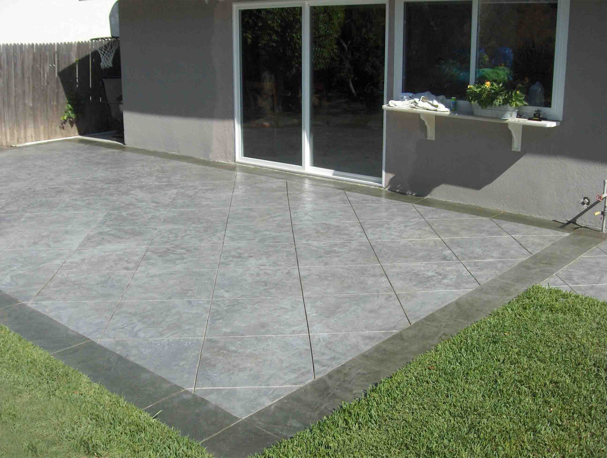 Best ideas about Concrete Patio Ideas . Save or Pin Stamped Concrete Patio Installation Do's and Don'ts Now.