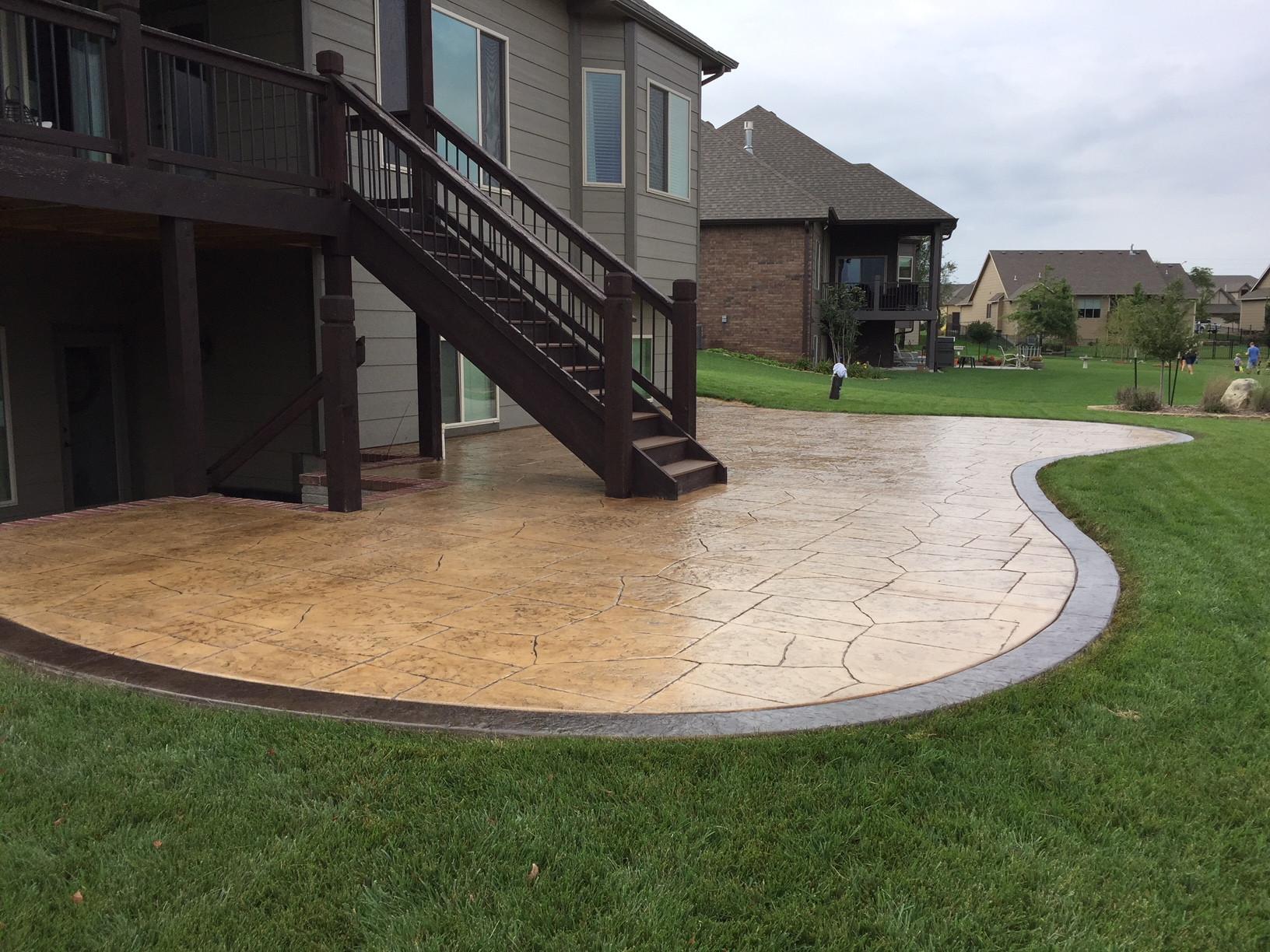 Best ideas about Concrete Patio Ideas . Save or Pin Concrete Patios Concrete Resealing Now.
