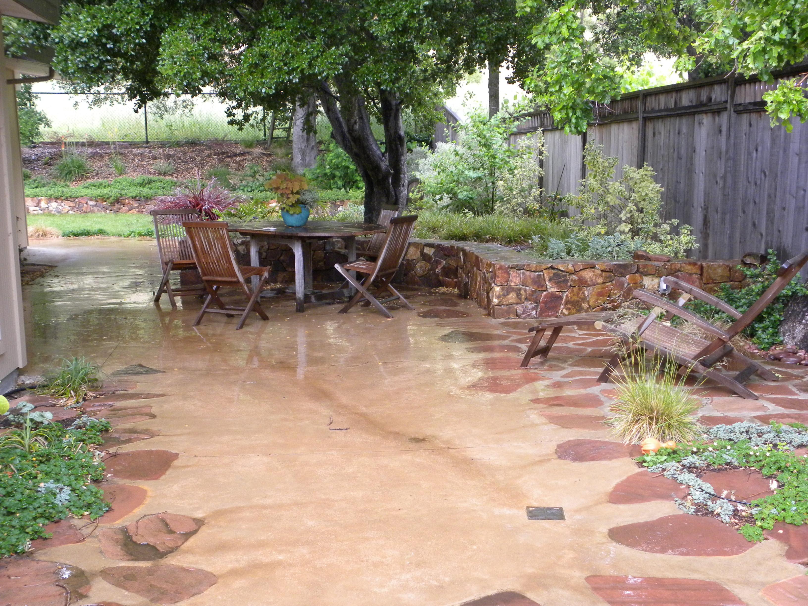 Best ideas about Concrete Patio Ideas . Save or Pin Concrete patio ideas Now.