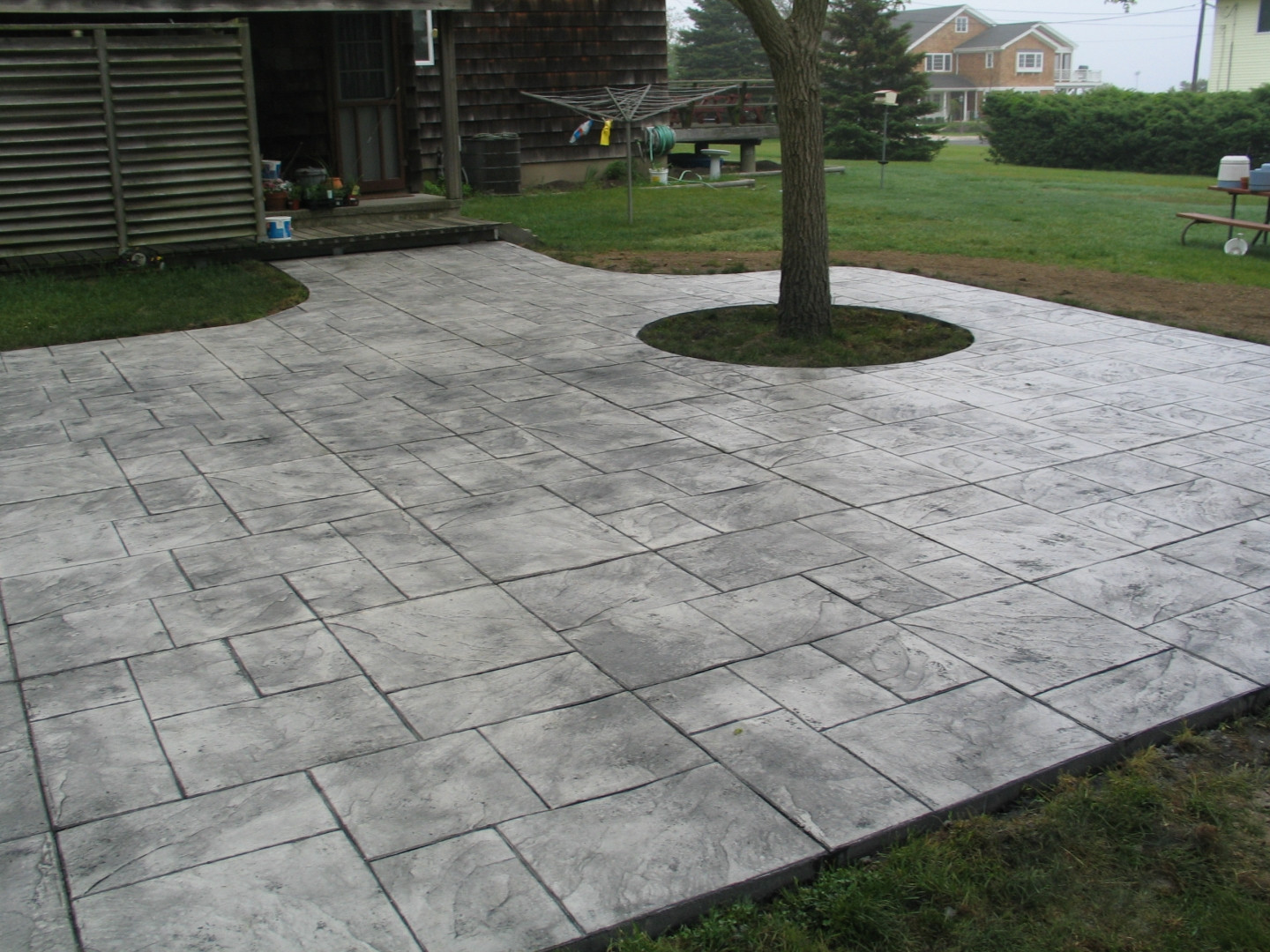 Best ideas about Concrete Patio Ideas . Save or Pin Patios Now.