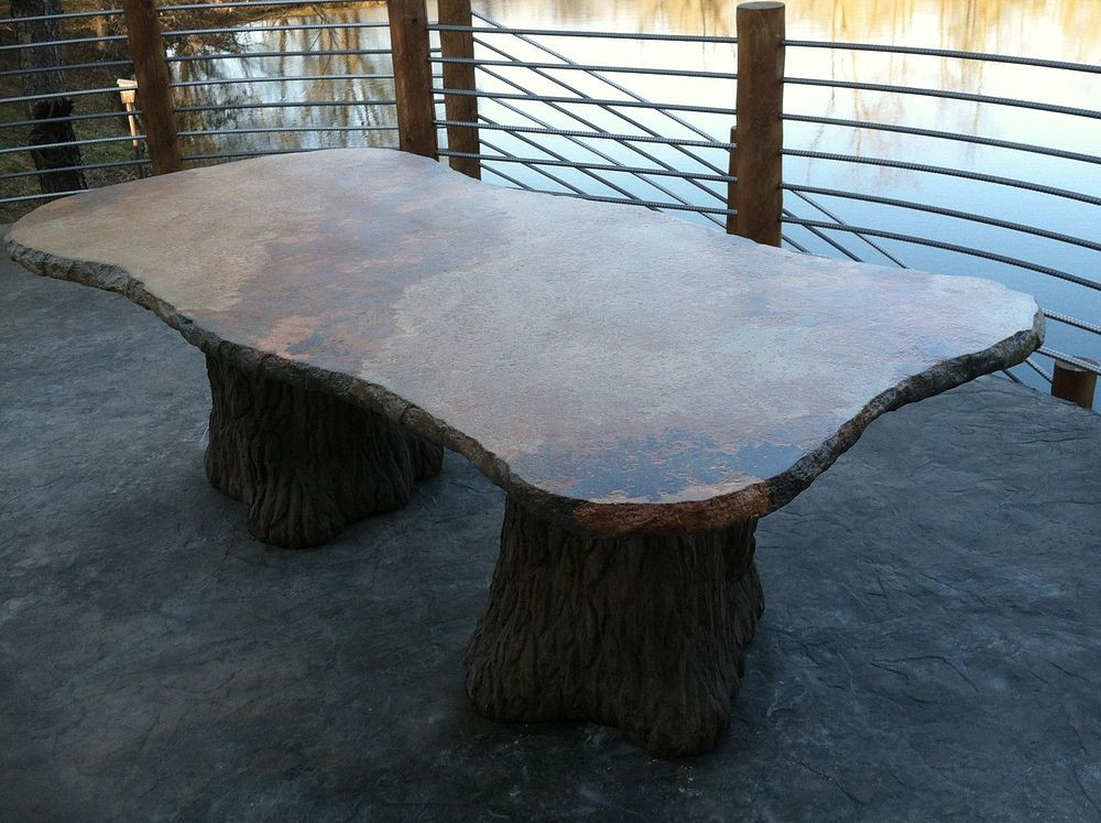 Best ideas about Concrete Patio Table . Save or Pin Hometalk Now.