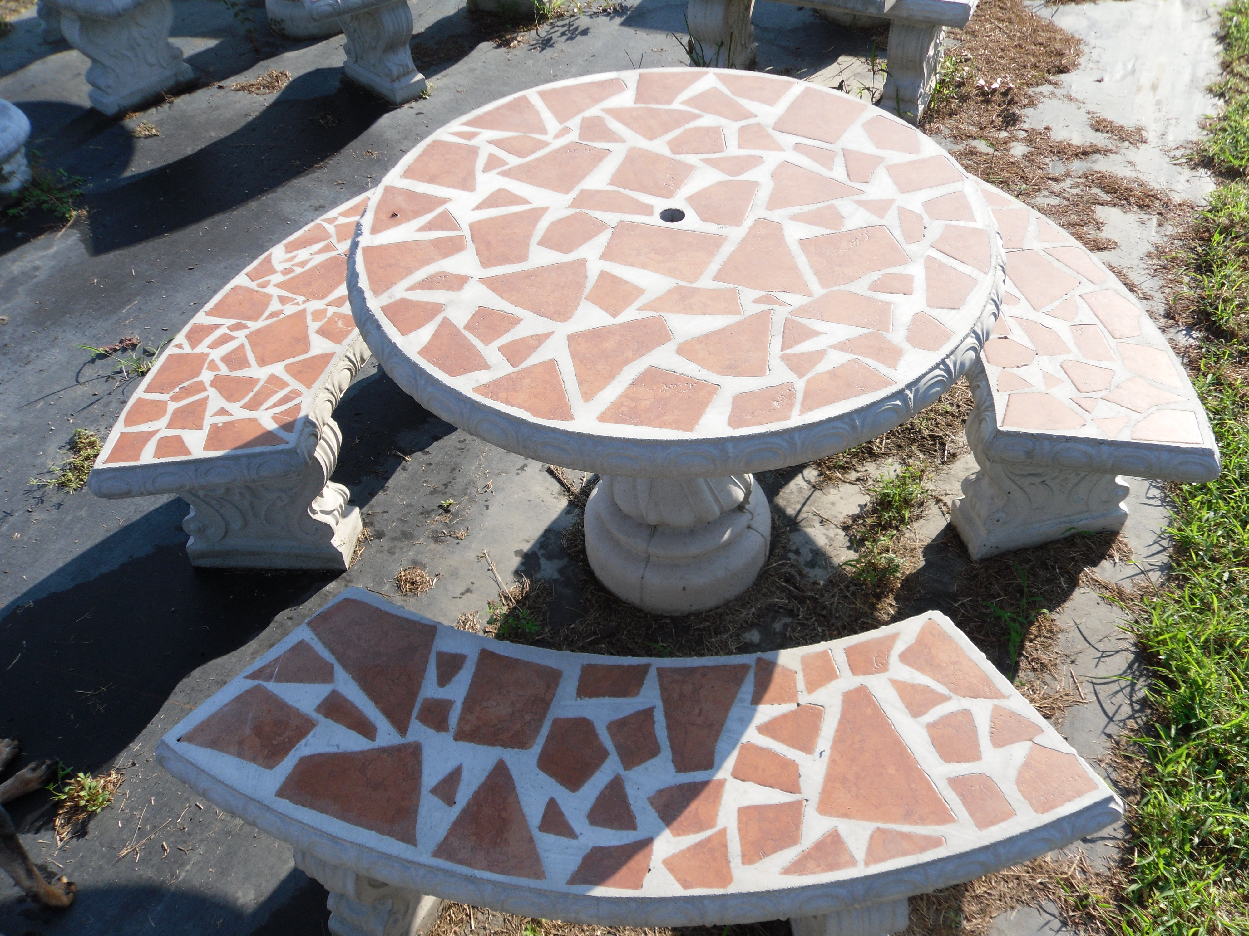 Best ideas about Concrete Patio Table . Save or Pin Patio Table Sets The Cement Barn Manufacturers of Now.