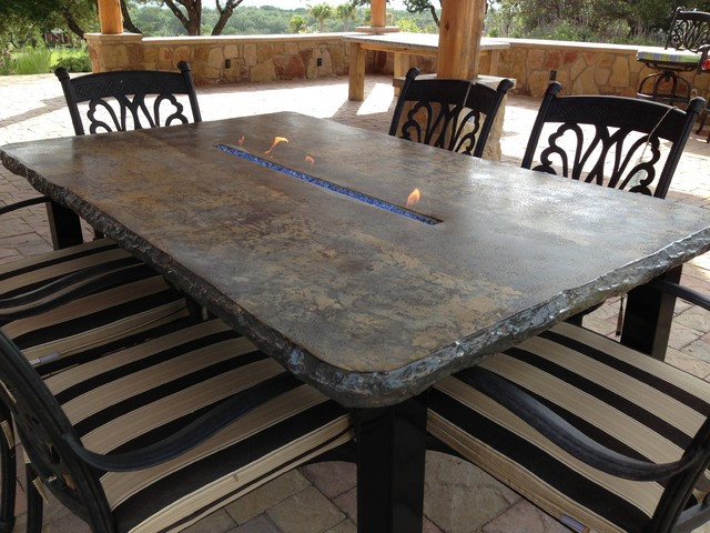 Best ideas about Concrete Patio Table . Save or Pin Concrete Jungle Patio Furniture & Fire Tables Now.