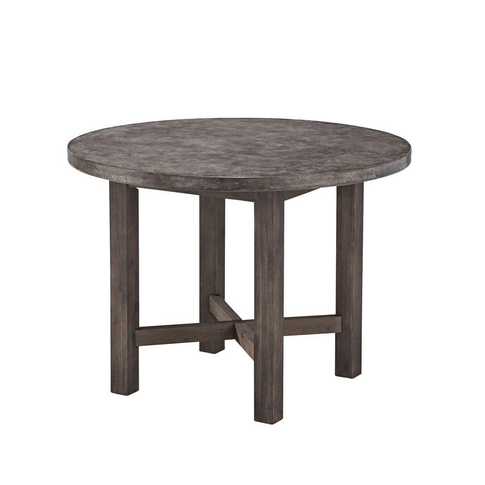 Best ideas about Concrete Patio Table . Save or Pin Home Styles Concrete Chic Round Patio Dining Table 5134 30 Now.
