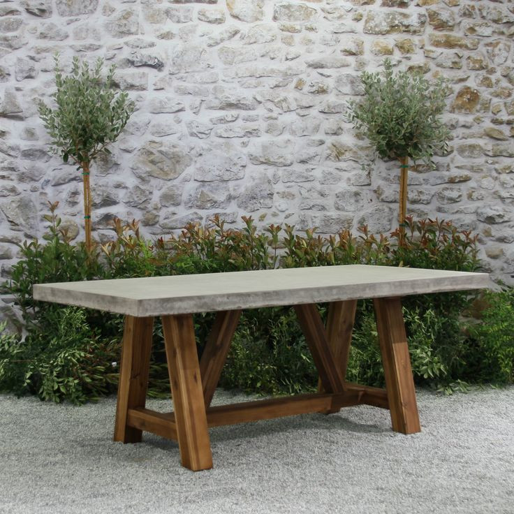 Best ideas about Concrete Patio Table . Save or Pin 25 best ideas about Concrete table on Pinterest Now.