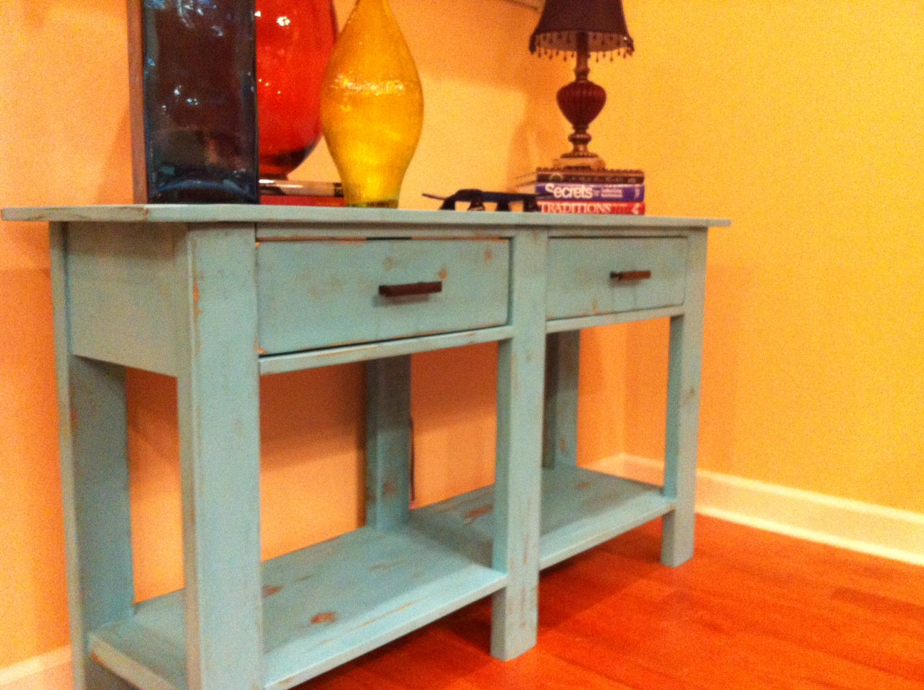 Best ideas about Console Table DIY . Save or Pin Ana White Now.