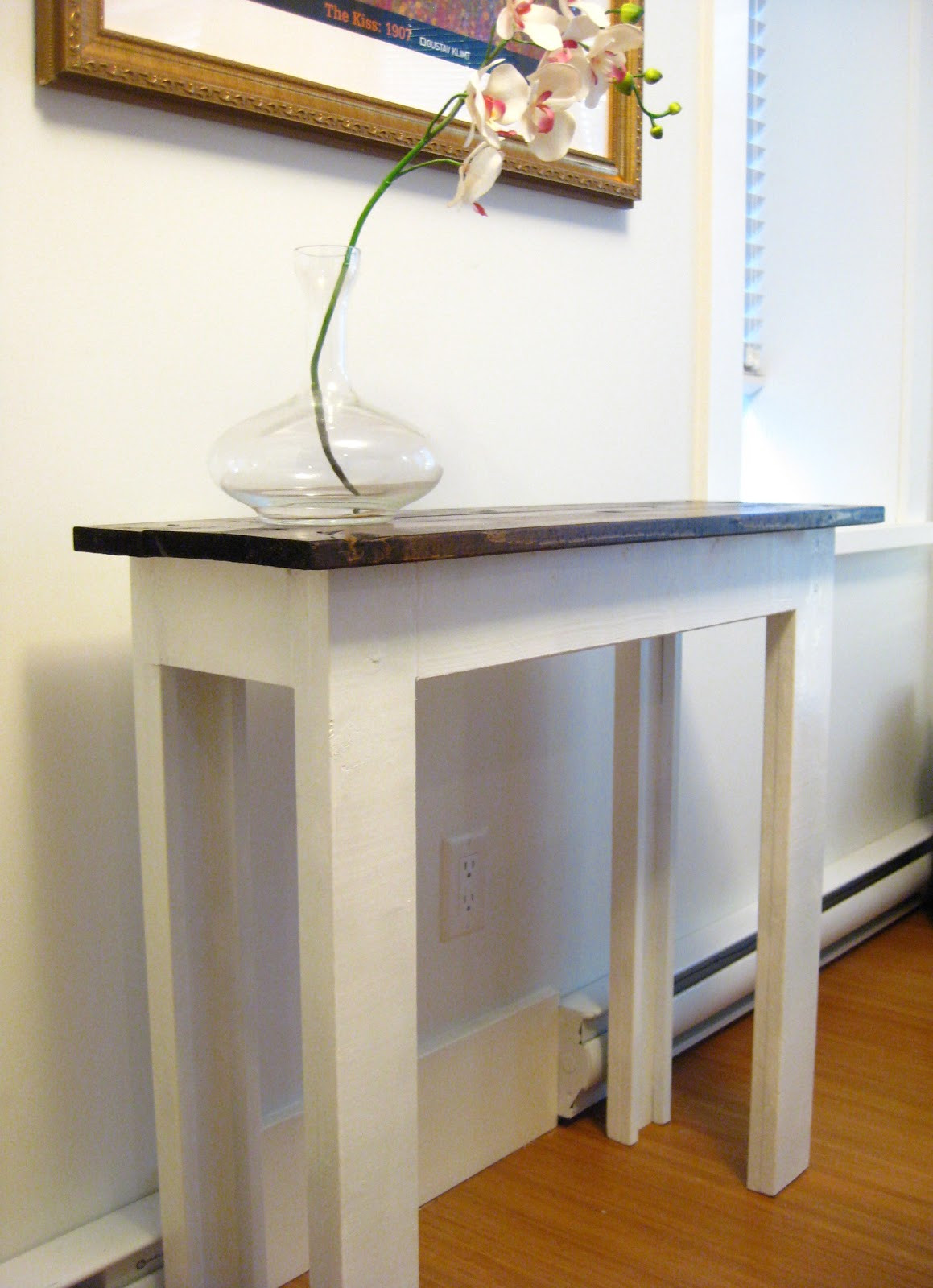 Best ideas about Console Table DIY . Save or Pin Life Designed DIY Console Table Now.