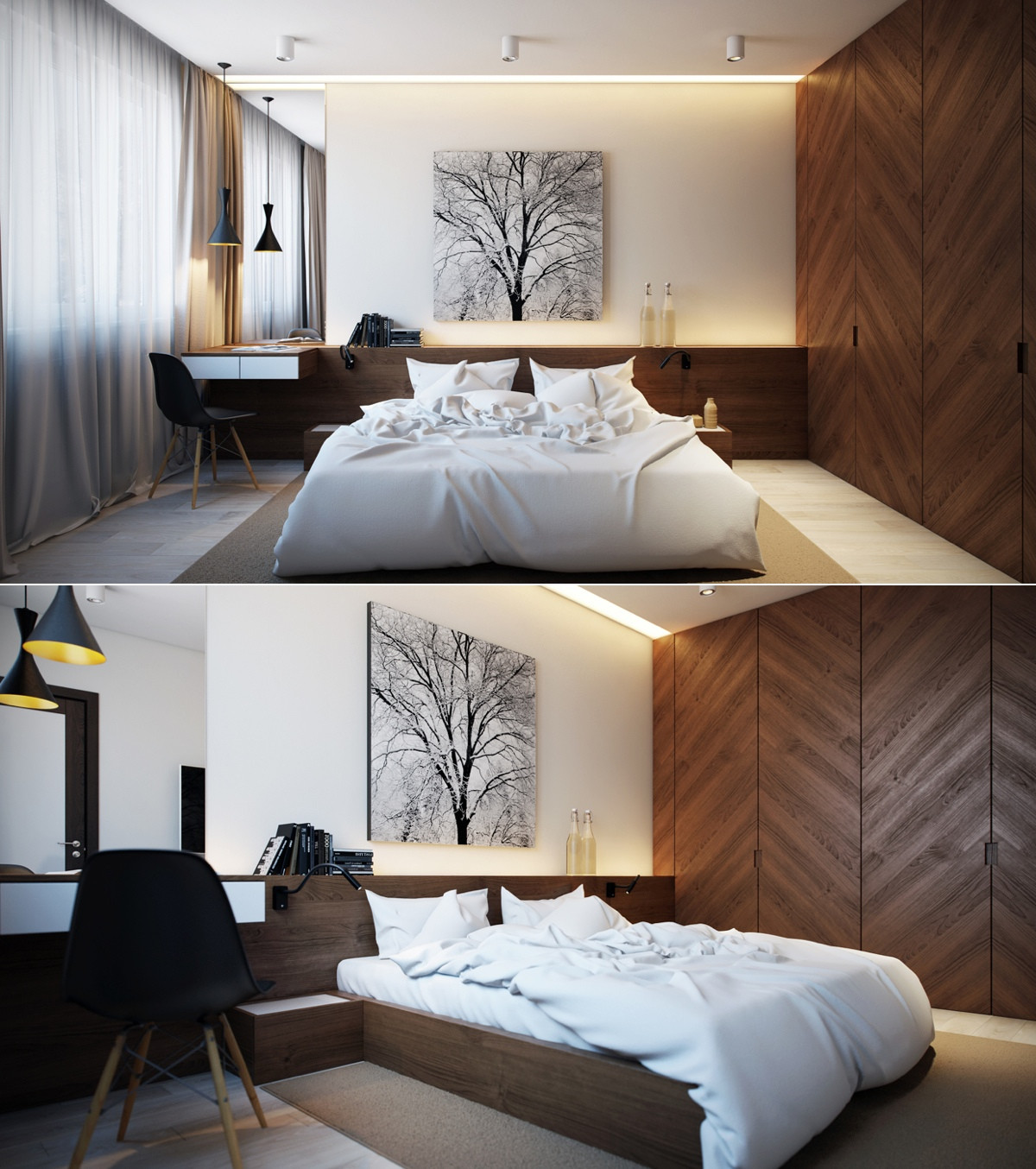 Best ideas about Contemporary Bedroom Ideas . Save or Pin Modern Bedroom Design Ideas for Rooms of Any Size Now.