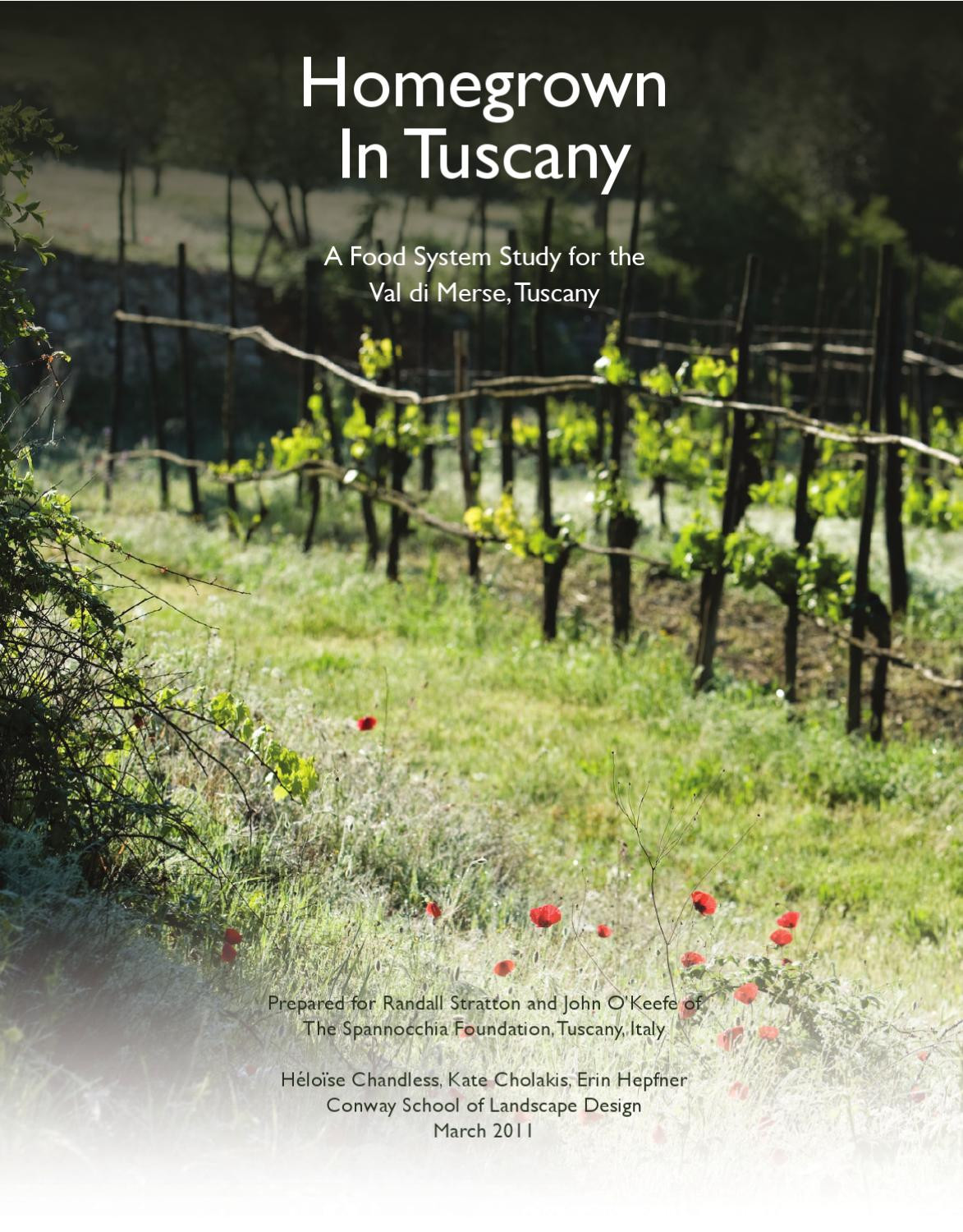 Best ideas about Conway School Of Landscape Design . Save or Pin Homegrown In Tuscany A Food System Study for the Val di Now.