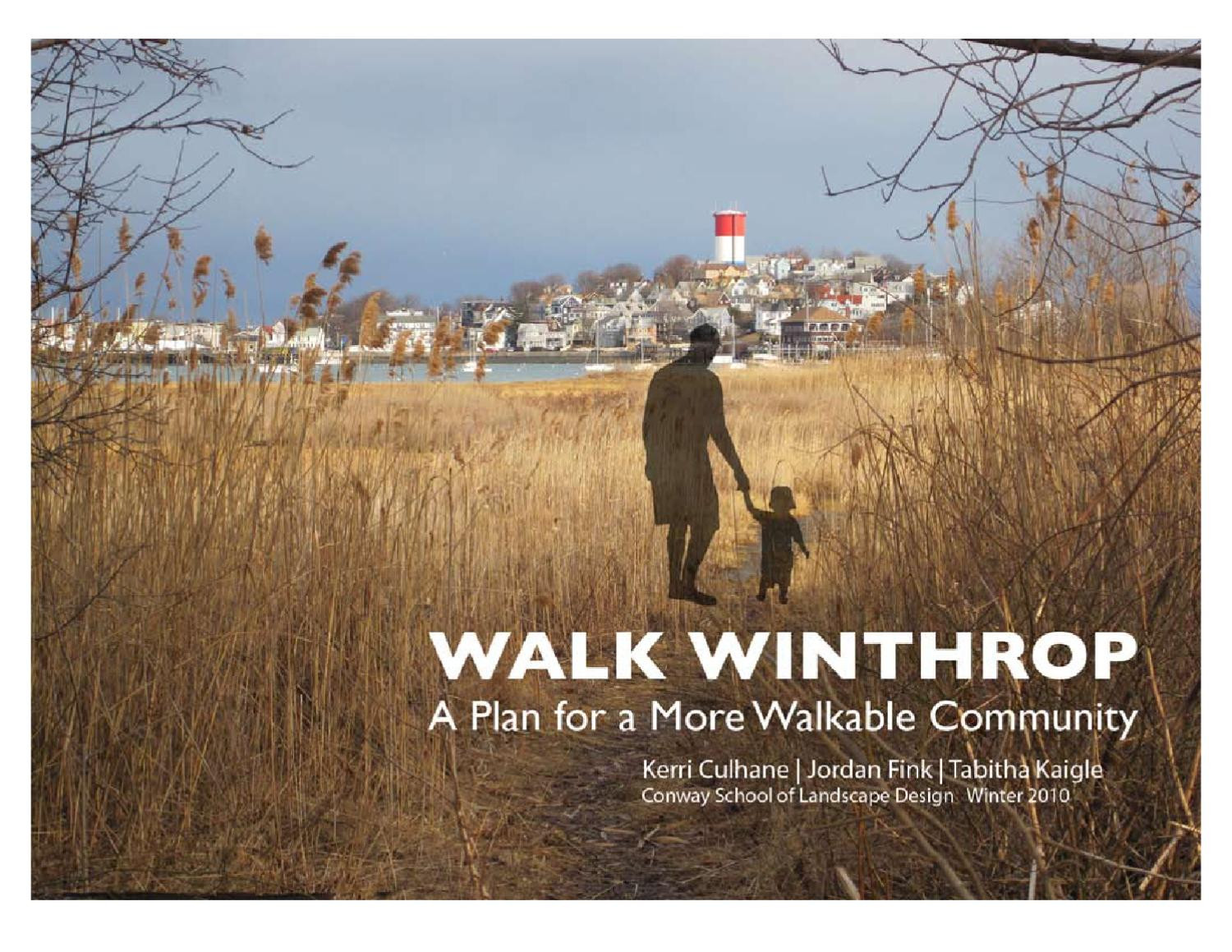 Best ideas about Conway School Of Landscape Design . Save or Pin Walk Winthrop A Plan for a More Walkable & Bikeable Town Now.