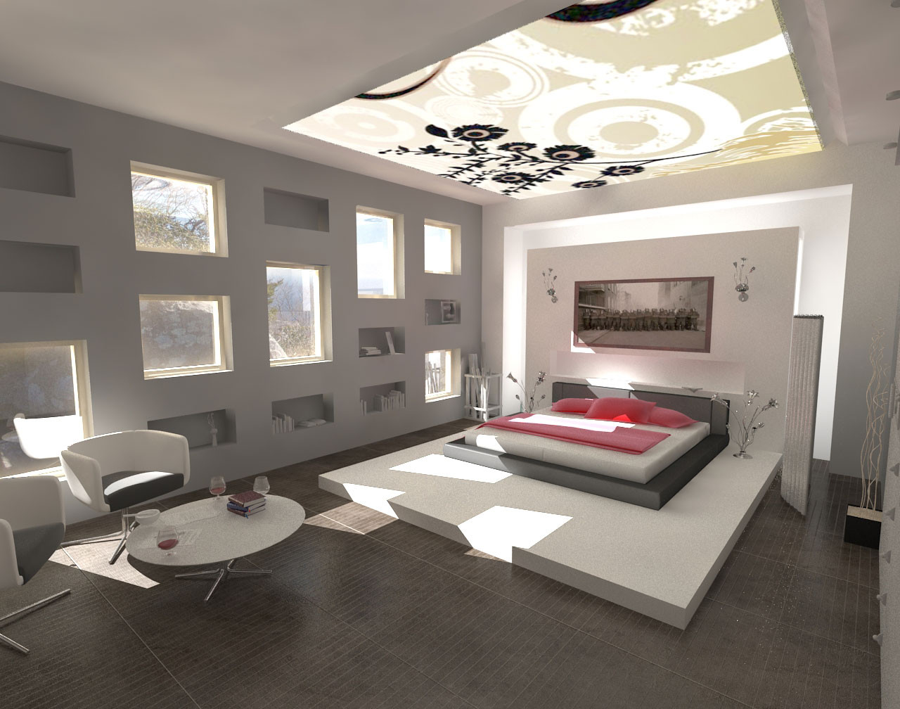 Best ideas about Cool Bedroom Ideas . Save or Pin Fantastic Modern Bedroom Paints Colors Ideas Now.