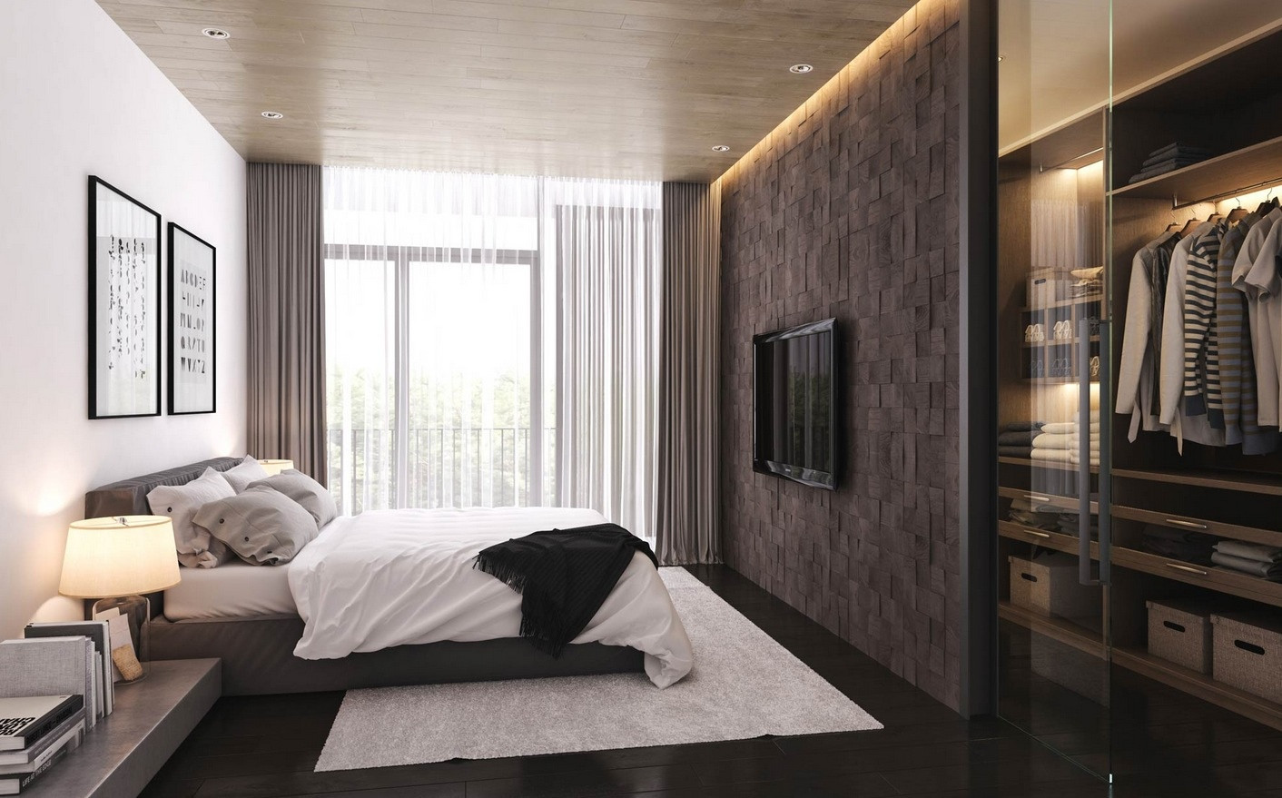 Best ideas about Cool Bedroom Ideas . Save or Pin 21 Cool Bedrooms for Clean and Simple Design Inspiration Now.
