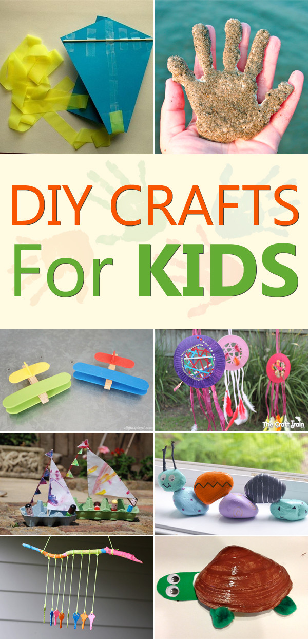 Best ideas about Cool DIY Projects For Kids . Save or Pin 20 Fun & Simple DIY Crafts for Kids Now.