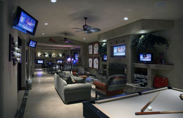 Best ideas about Cool Game Room Ideas . Save or Pin 60 Game Room Ideas For Men Cool Home Entertainment Designs Now.