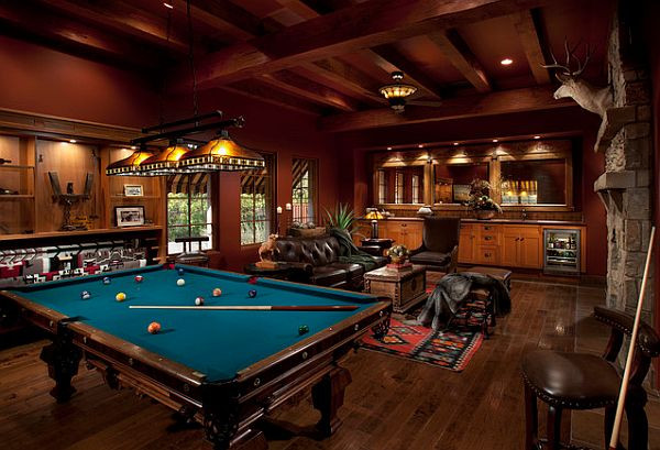 Best ideas about Cool Game Room Ideas . Save or Pin Rec Room Design Ideas For Some Fancy Time at Home Now.