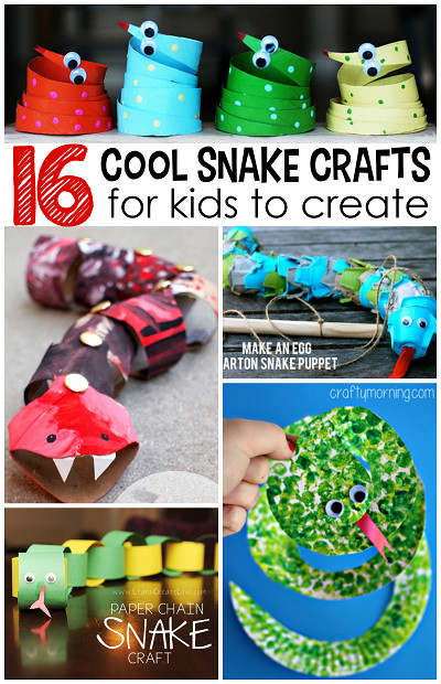 Best ideas about Cool Kids Crafts . Save or Pin The Coolest Snake Crafts for Kids to Create Crafty Morning Now.