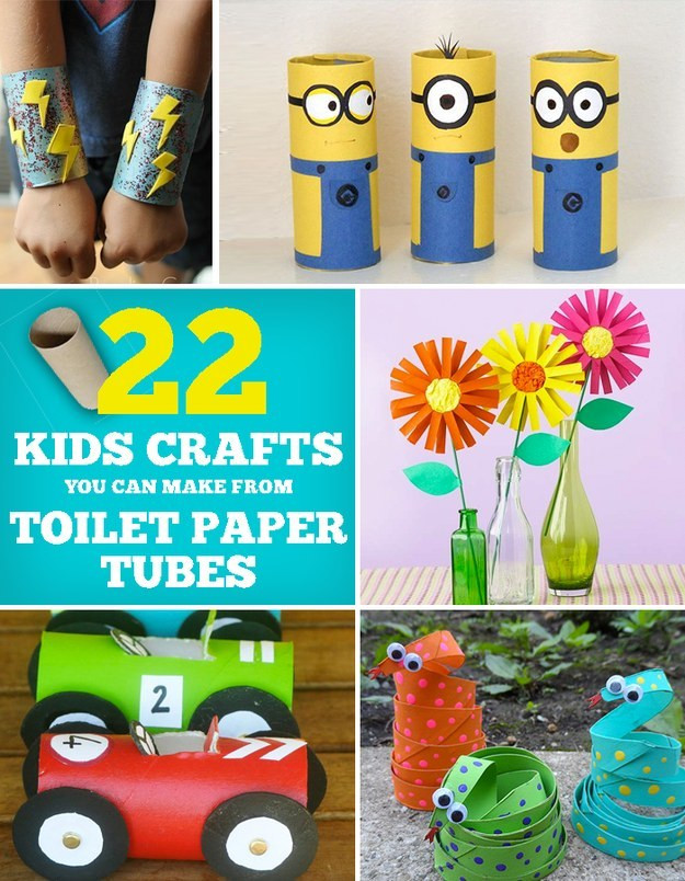 Best ideas about Cool Kids Crafts . Save or Pin 22 Cool Kids Crafts You Can Make From Toilet Paper Tubes Now.