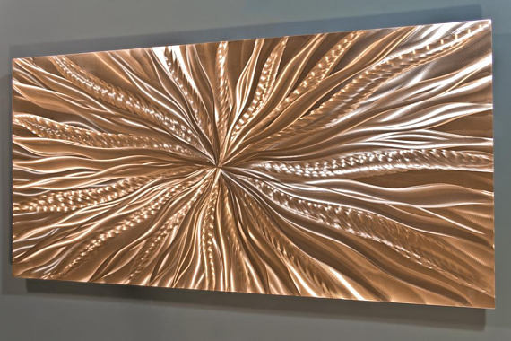 Best ideas about Copper Wall Art . Save or Pin Copper Wall Art Metal Wall Art Copper Wall Decor Now.