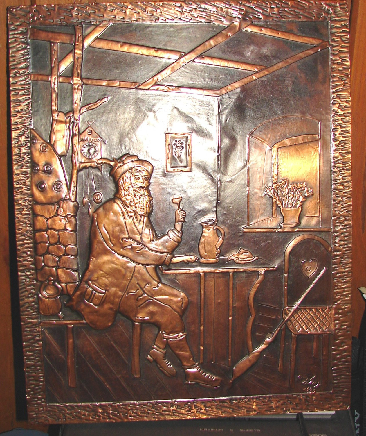 Best ideas about Copper Wall Art . Save or Pin German Antique Copper Wall Art Now.