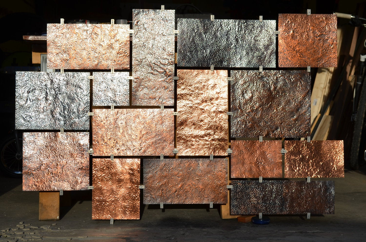 Best ideas about Copper Wall Art . Save or Pin Hammered Copper wall art Now.