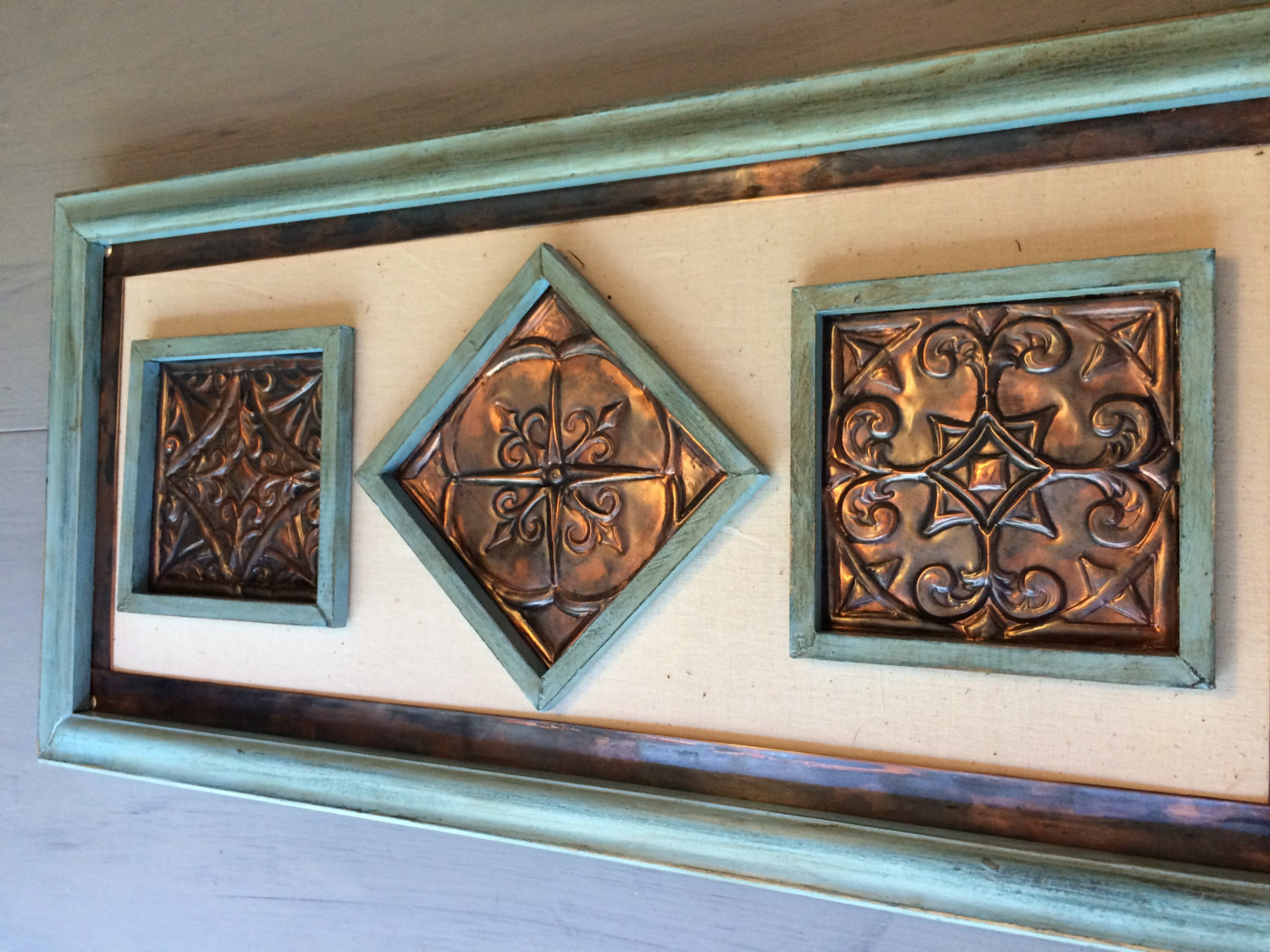 Best ideas about Copper Wall Art . Save or Pin Copper Wall Art Hand Made Embossed Original Unique Wall Now.