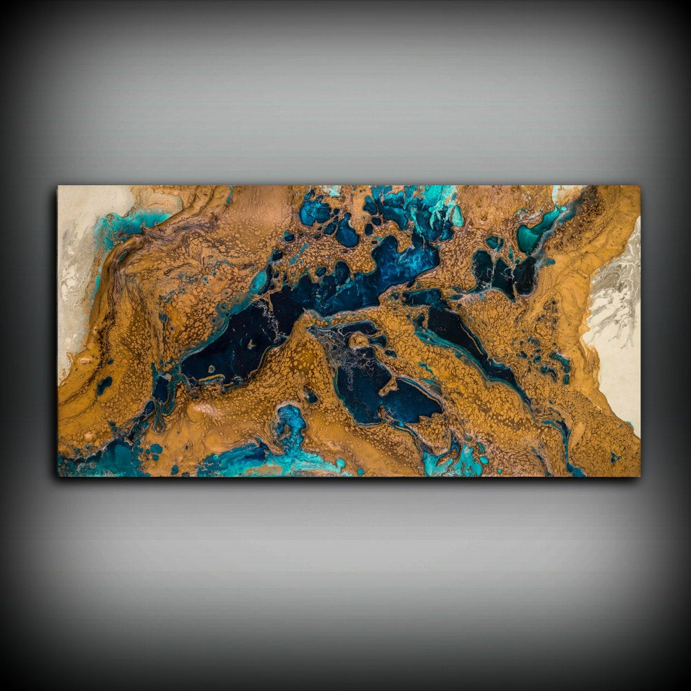 Best ideas about Copper Wall Art . Save or Pin Giclee Abstract Fine Art Print from Original Acrylic Abstract Now.