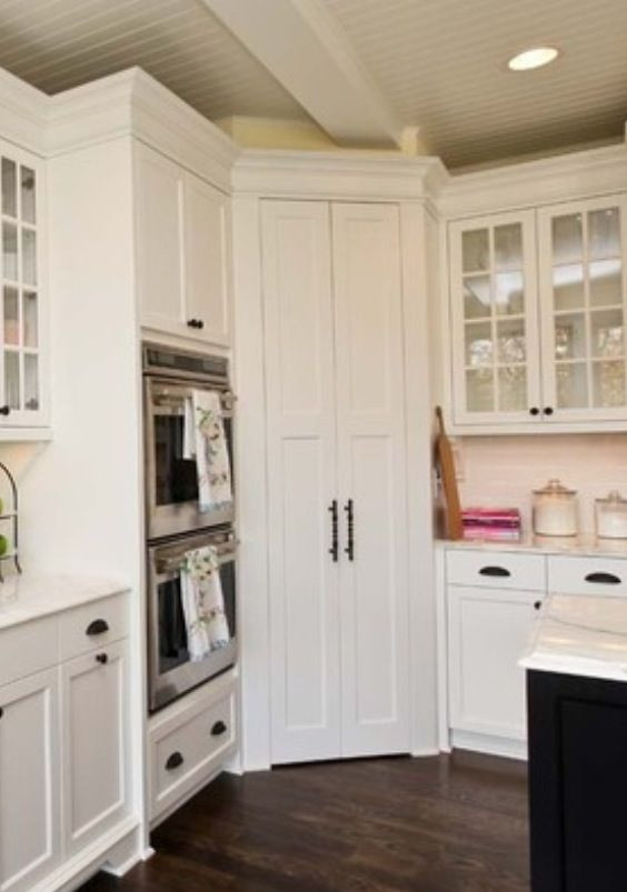 Best ideas about Corner Kitchen Pantry Cabinet . Save or Pin Corner pantry House Kitchen Pinterest Now.