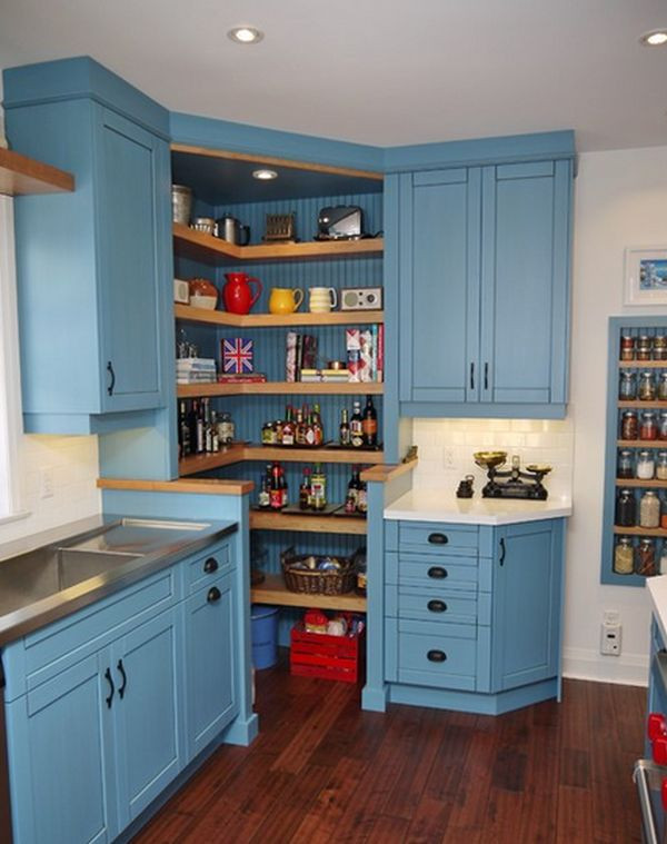 Best ideas about Corner Kitchen Pantry Cabinet . Save or Pin Design Ideas And Practical Uses For Corner Kitchen Cabinets Now.