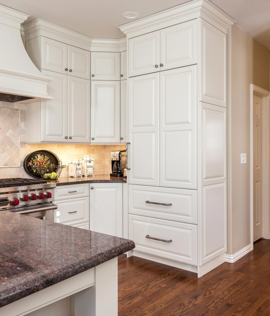 Best ideas about Corner Pantry Cabinet . Save or Pin Luxurious Functional Greenwood Village Kitchen Remodel Now.