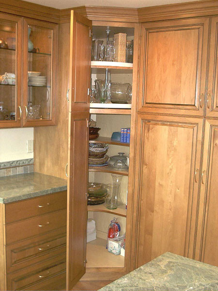 Best ideas about Corner Pantry Cabinet . Save or Pin Tony s Custom Cabinets Storage Optionsquality Kitchen Now.