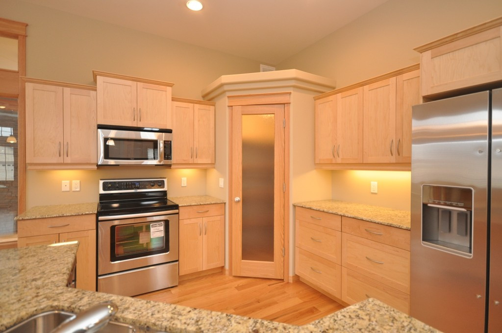 Best ideas about Corner Pantry Cabinet . Save or Pin Tall Corner Pantry Cabinet With A Desk Space Now.