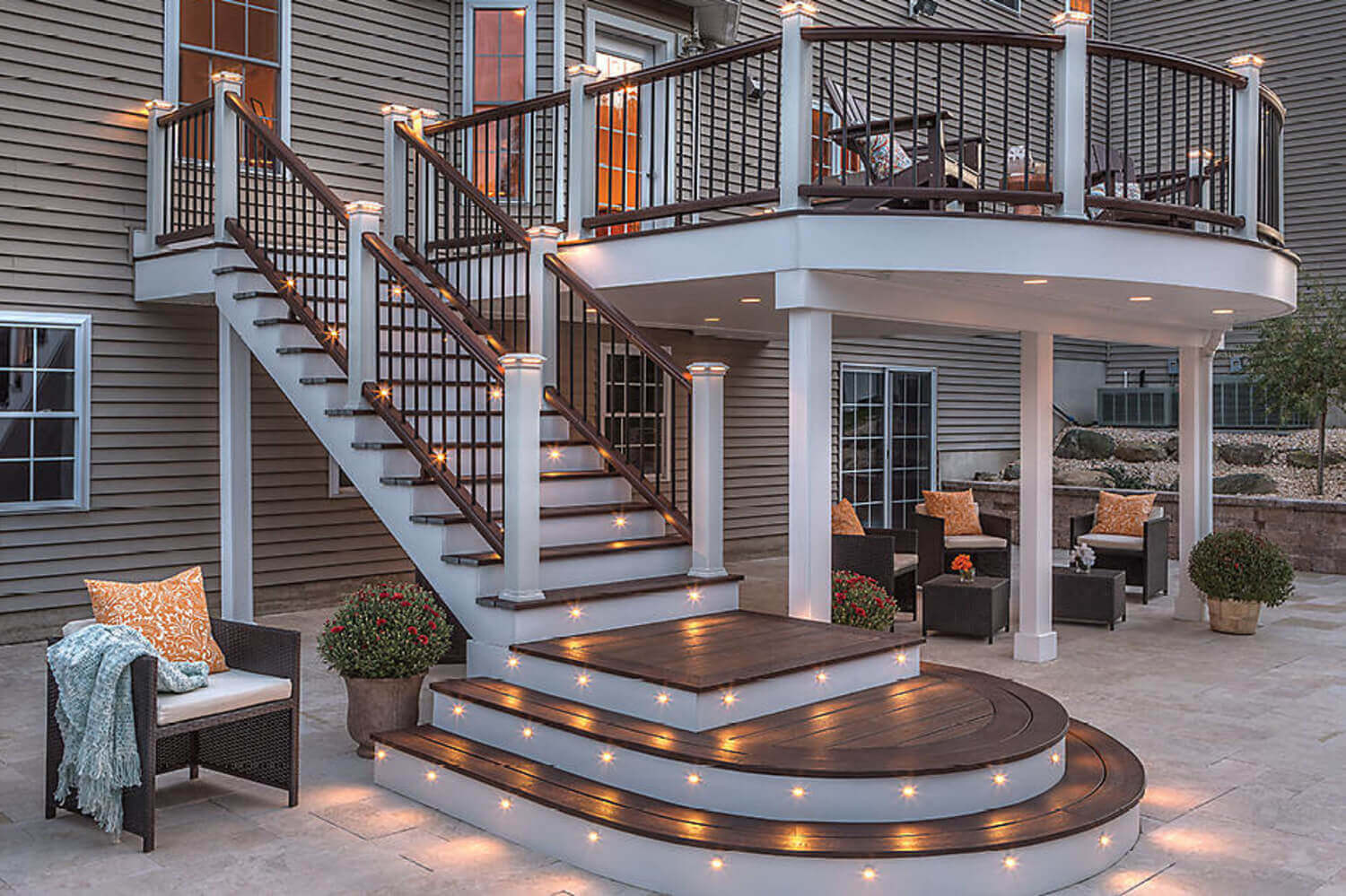 Best ideas about Cost To Build A Deck DIY . Save or Pin Deck Cost Calculator Estimate Prices For Trex posite Now.