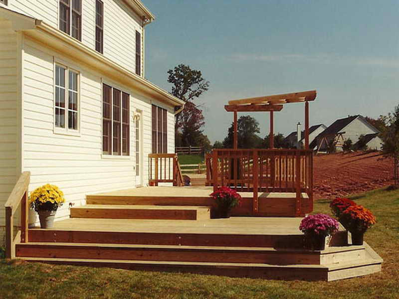 Best ideas about Cost To Build A Deck DIY . Save or Pin Flooring How Much Does It Cost To Build A Deck Building Now.