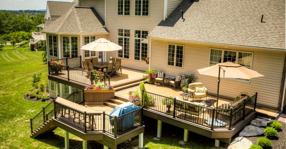 Best ideas about Cost To Build A Deck DIY . Save or Pin How To File For A Deck Construction Permit Porch Advice Now.